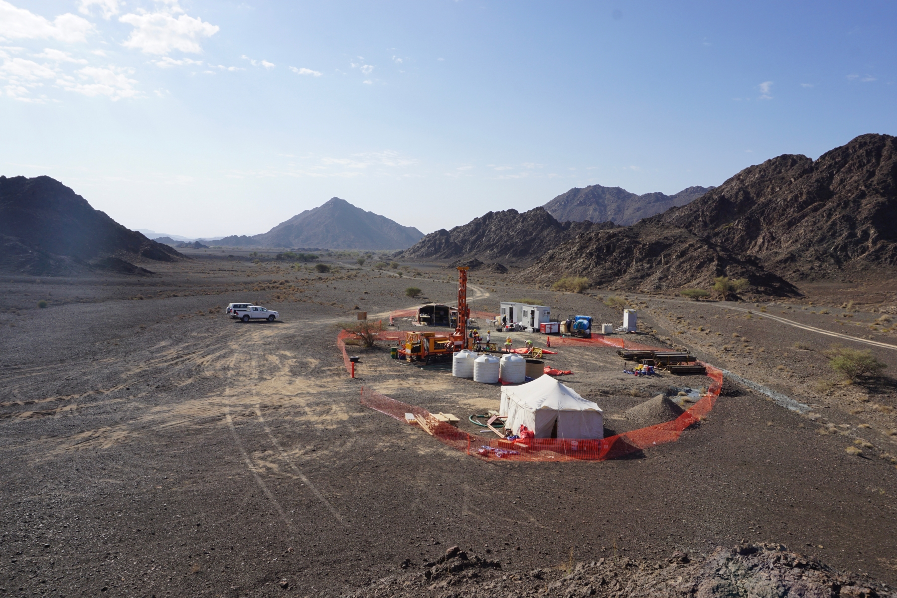 Oman Drilling Project drill site